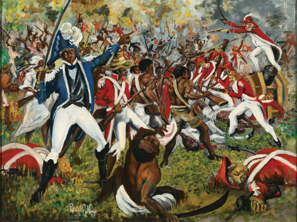 how were the french and haitian The french were able to occupy the island's major port cities, and toussaint's leading military commanders, particularly his right-hand man general dessalines, went over to the french side toussaint himself withdrew to his plantation in june 1802, the french arrested him and shipped him to france, where he died in prison in 1803.