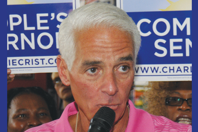 Charlie Crist Book Signing in St. Pete