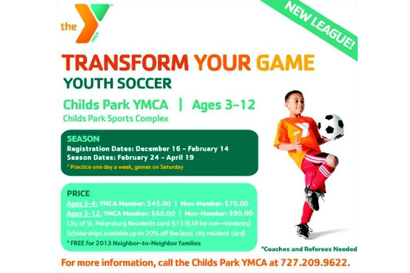 Youth Soccer Childs Park YMCA
