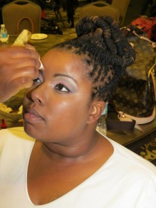 Makeup at Natural Hair Expo 2014