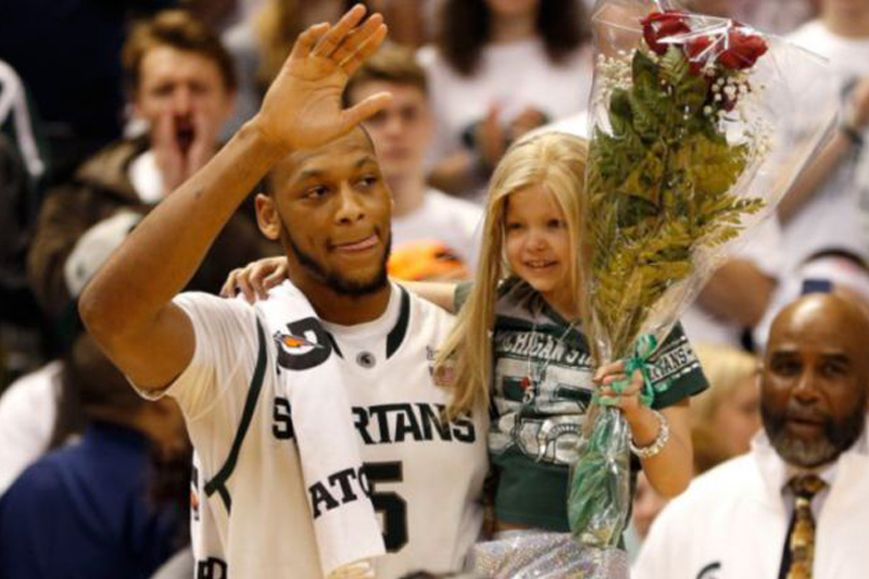 Lacey Holsworth Dies, Long-time Friendship with MSU's Adreian Payne