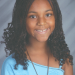 10-year-old author Nazhia Reynolds
