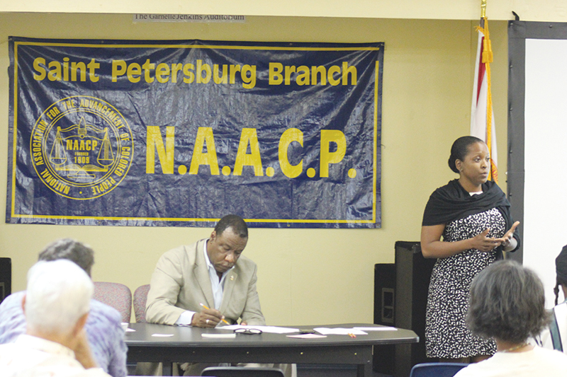 St. Pete on the Move NAACP meeting