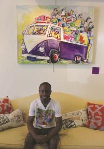 Artist  Jonathan Madzinga