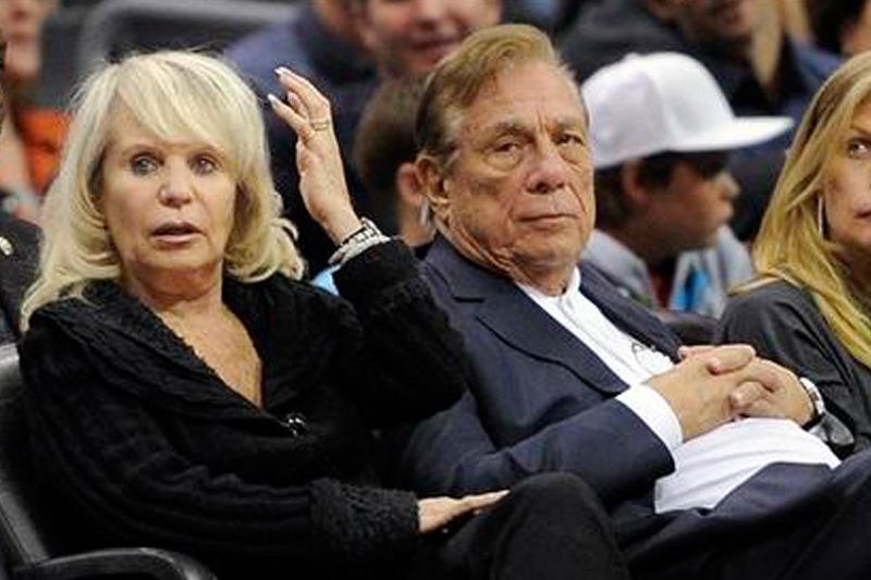 Donald Sterling & Wife Shelly