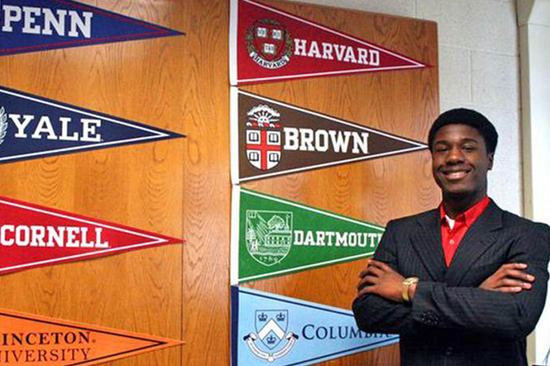 Kwasi Enin accepted to 8 Ivy League schools