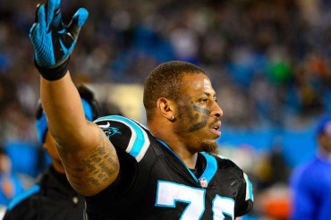 Panthers DE Hardy released from jail on $17,000 bond after assault charge