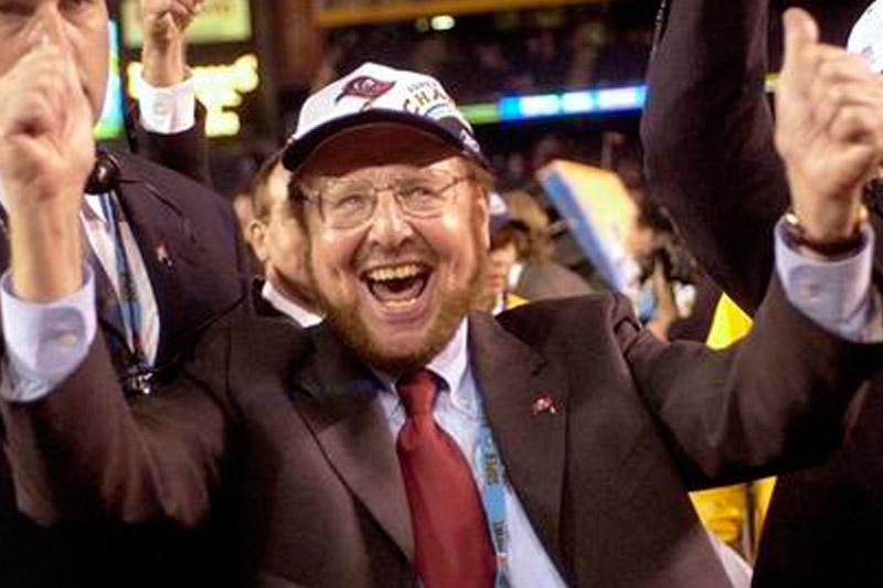 Bucs owner Glazer dies at 85