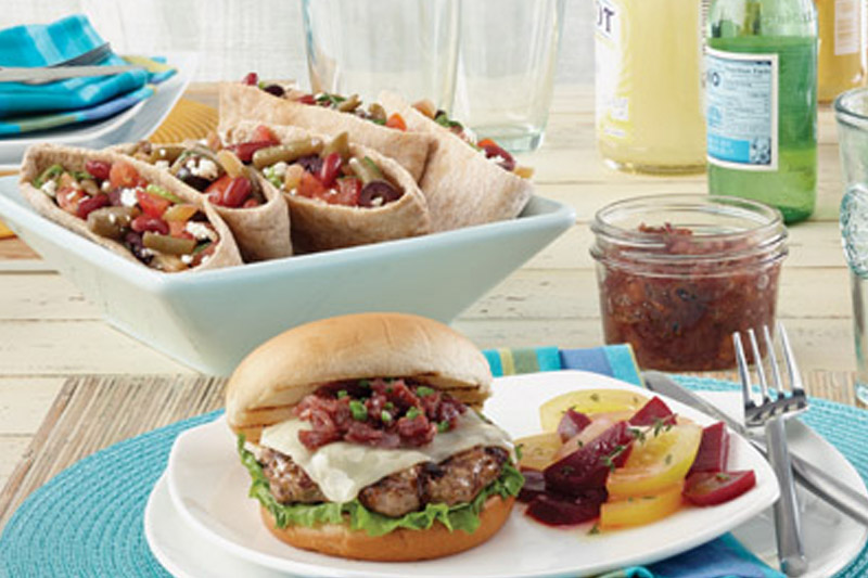 Fresh, fun summer meals