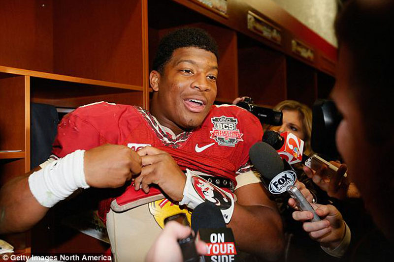 Heisman Trophy winner Jameis Winston