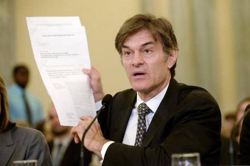 Dr. Oz scolded at hearing on weight loss scams