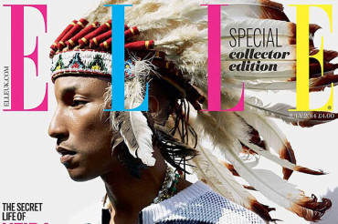 Elle UK slammed by Native Americans for 'racist' cover