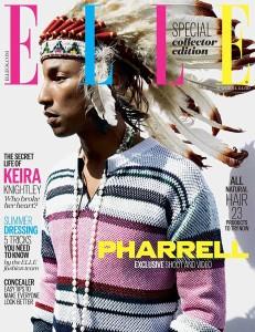 Elle UK Pharrell Williams