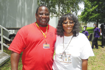 Juneteenth celebration at Campbell Park