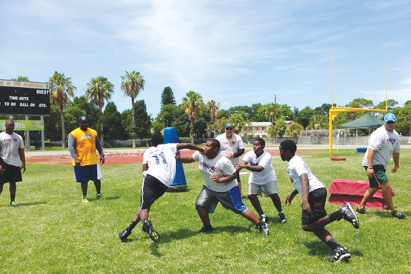1st Down 4 Life youth football camp