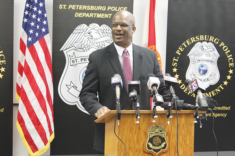 Meet St. Pete's new top cop