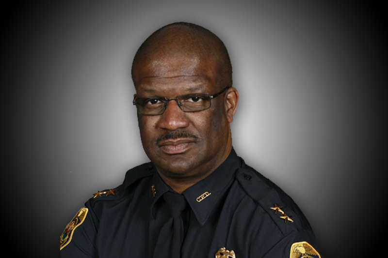 Chief Holloway, St. Petersburg's new police chief