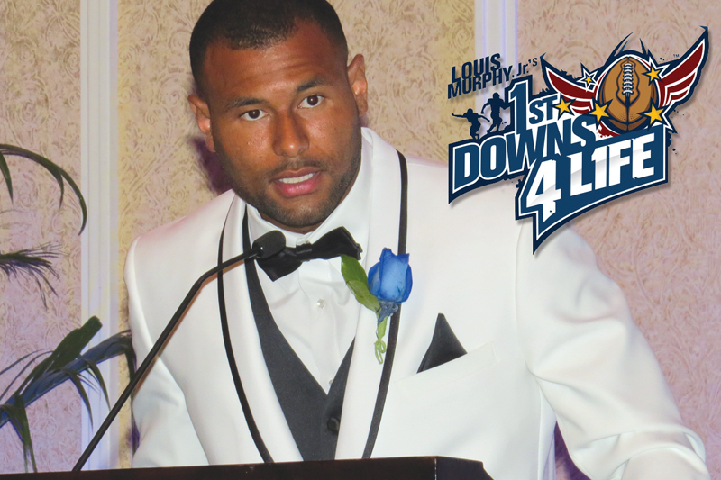1st Down 4 Life All-Star Charity Weekend, Louis Murphy