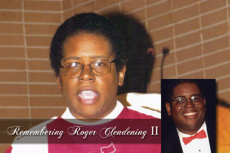 Roger Clendening II goes home