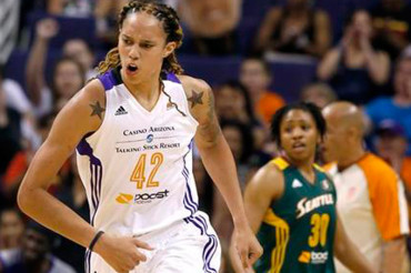 Griner blossoming in WNBA after rough 1st year