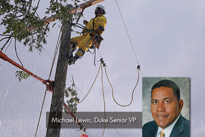 Storm Tips from Duke Energy Senior VP Michael Lewis