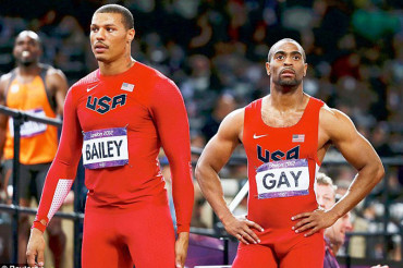 Tyson Gay returns from one-year drugs ban