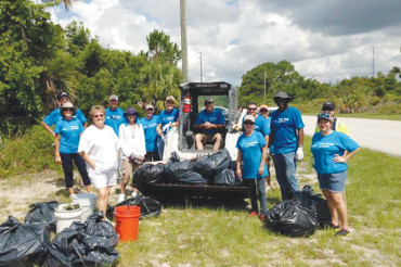 Duke Energy in Action at Weedon Island Preserve