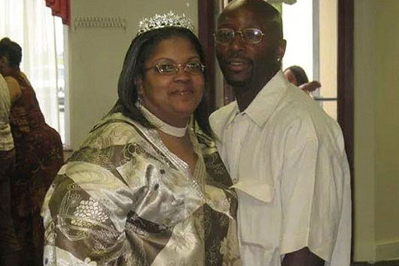 Woman stabbed to death by husband previously convicted of murder