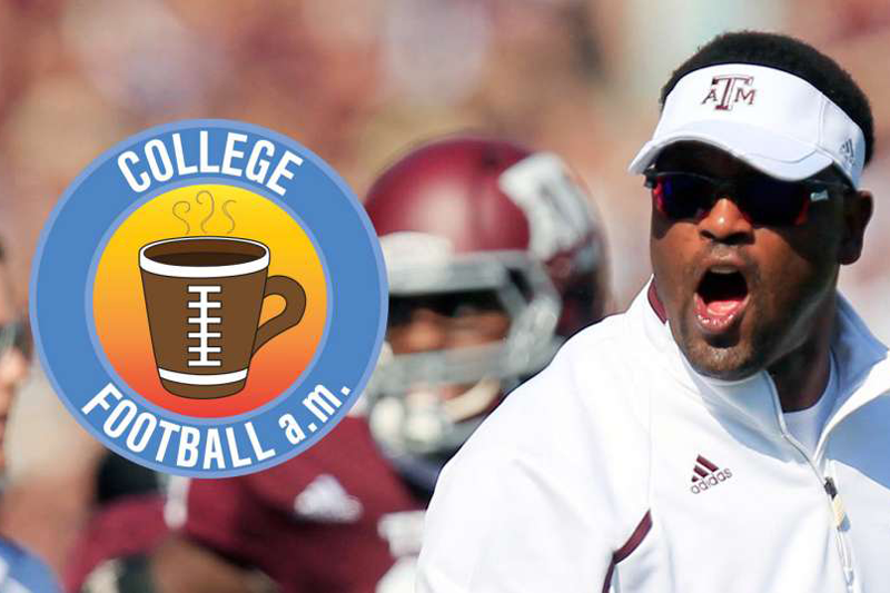 CFB AM: Aggies go crazy when Sumlin cancels practice for movies
