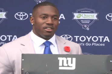David Wilson sheds 'tears of joy' as he bids goodbye to the NFL