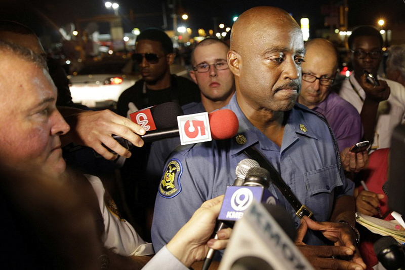 2 Shot, 78 arrested as violence escalates amid Ferguson's peaceful demonstrations