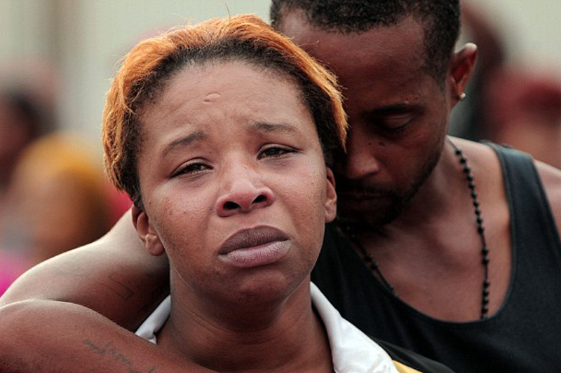 Family of unarmed 18-year-old shot dead by police does not condone violence