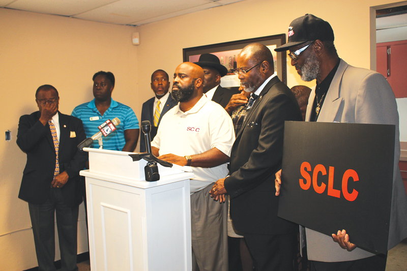 SCLC calls press conference for justice in Florida