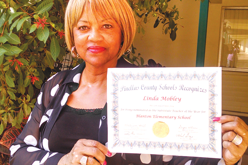 Teacher of Year Linda Mobley, St. Petersburg, Pinellas