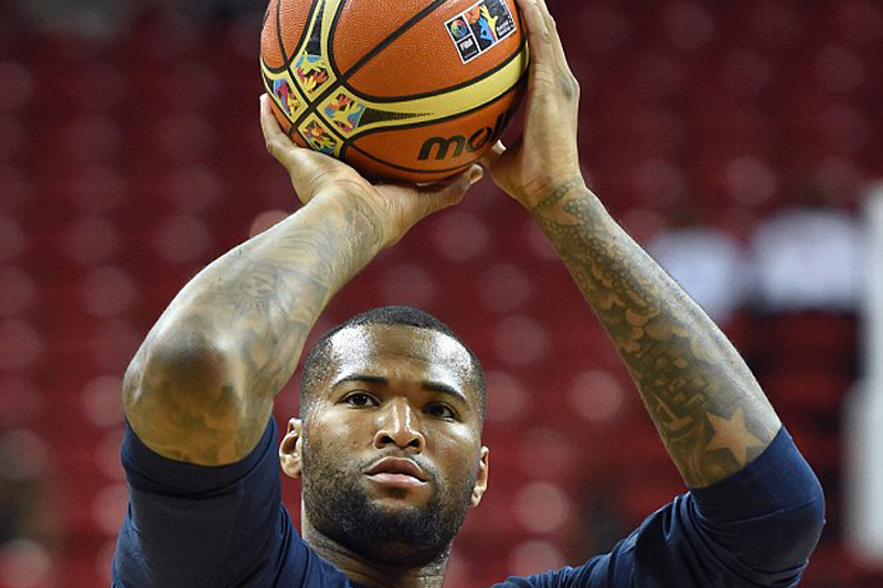 'Do you know where Alabama is?' DeMarcus Cousins to reporter who asked if he knew where to find Slovenia