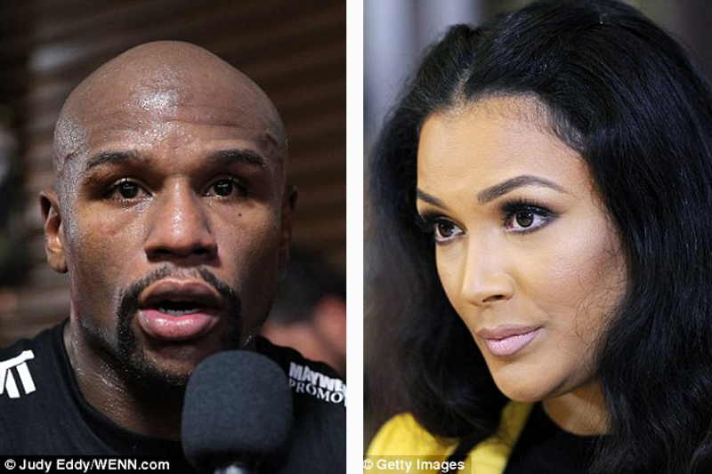 Boxing legend Floyd Mayweather held ex-lover at gunpoint, choked & threatened