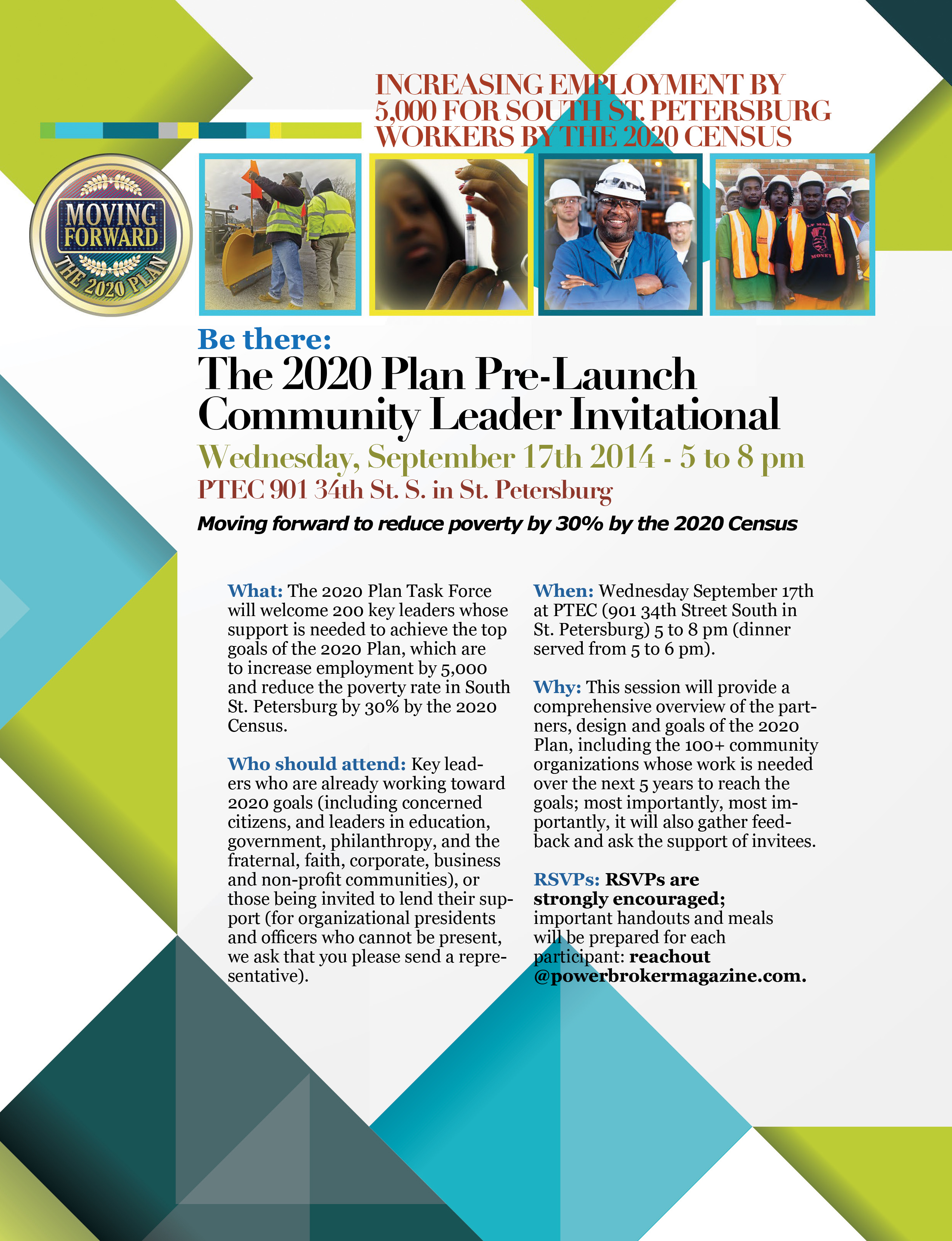 Invitation - Sept 17th 2020 Plan Pre-Launch Dinner Briefing