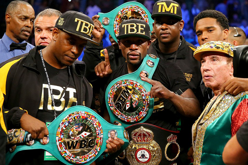 Floyd Mayweather beat Marcos Maidana in unanimous decision, overshadowed by bite controversy