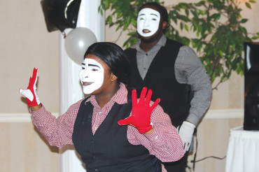 Mimes reflect the spirit and the heart