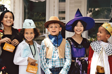 Encourage kids to give back This Halloween