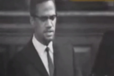 Why did Malcolm X go to Oxford?
