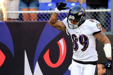 Baltimore Ravens' WR Steve Smith on release from Panthers: 'I was stabbed in the back'