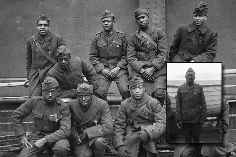 African American war hero earns Medal of Honor 95 years after fighting off a German attack