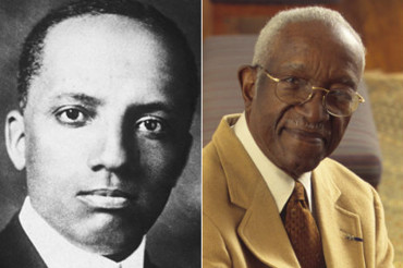 Who were the great black historians?