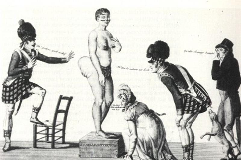 19th Century Kim: 'Hottentot Venus' sparked global scandal 200 years before Miss Kardashian