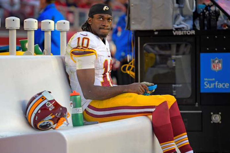 Benching signals end of Griffin's career – at least in Washington
