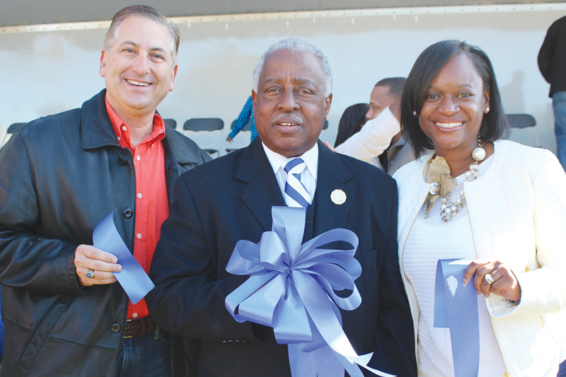 Thomas 'Jet' Jackson honored with building dedication