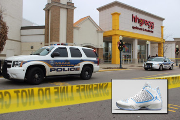 Teen shot dead by shopper he attempted to rob of limited edition Nike Air Jordans