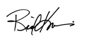 Mayor Kriseman Signature