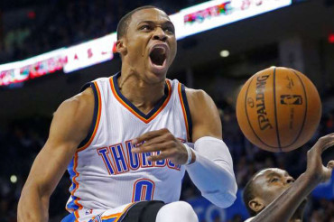 Thunder G Westbrook posting MVP-like numbers
